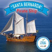 Santa Bernarda Algarve Barco Pirata